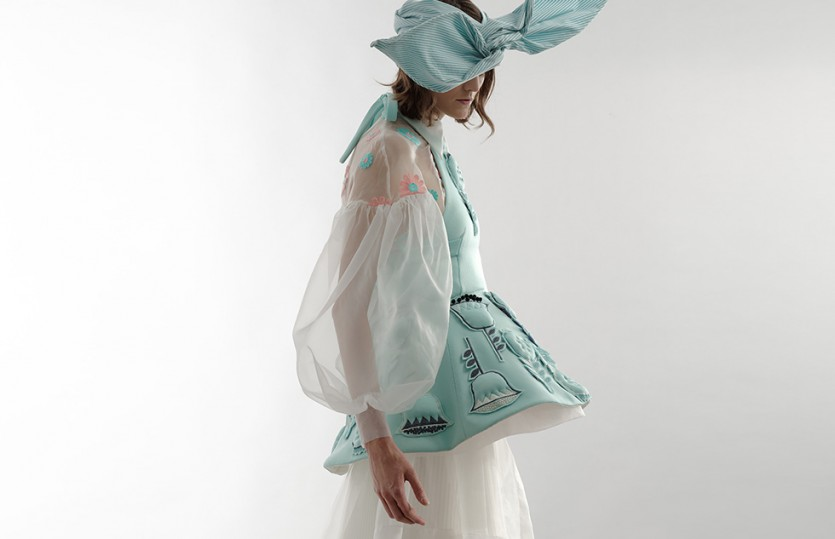 Keramin 2016: детали платья Taни Тур