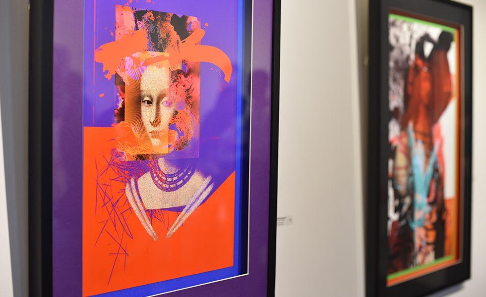 Открытие выставки Pavel Omelusik в  A&V Gallery
