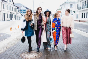 Как 5 блогеров собрались и показали, что же будет модно весной