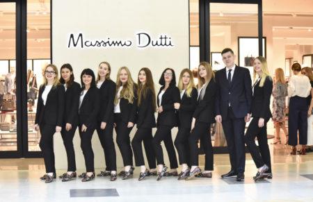 Первый магазин Massimo Dutti распахнул двери в Минске