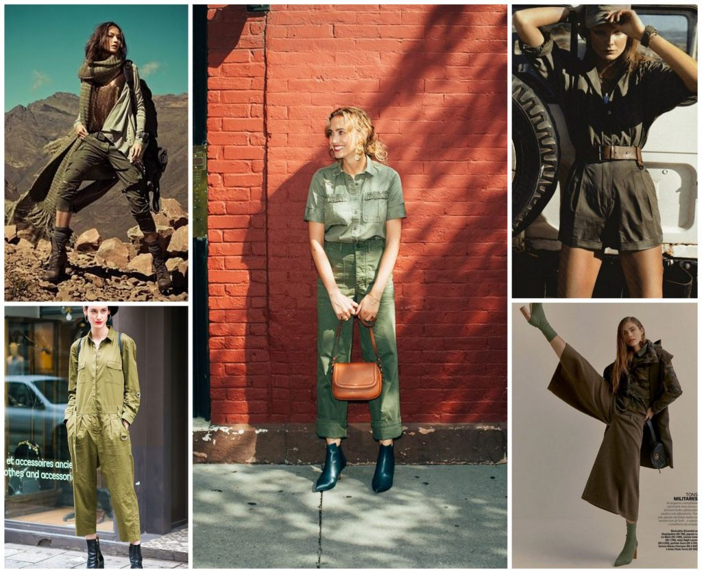 Military style inspiration